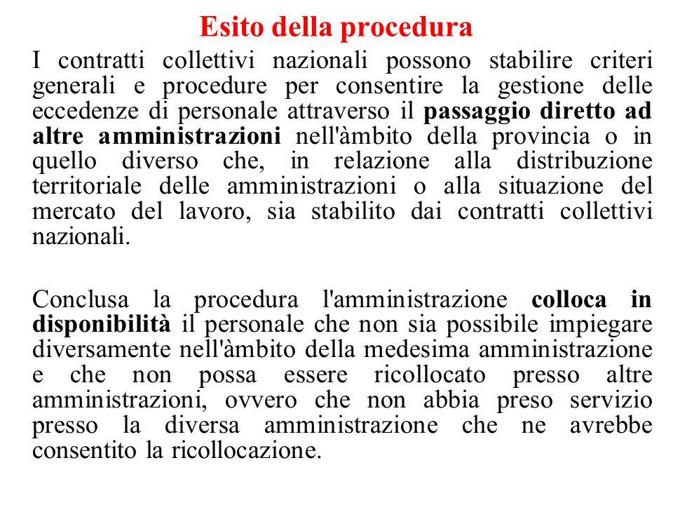 Criteri di scelta Previsti dallaccordo sindacale In mancanza di accordo, criteri legali: a) Esigenze tecnico organizzativo b) Anzianità di servizio c) Carichi di famiglia