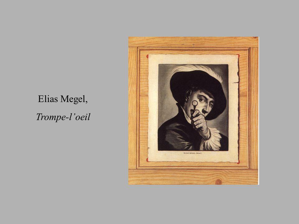 Elias Megel, Trompe-loeil