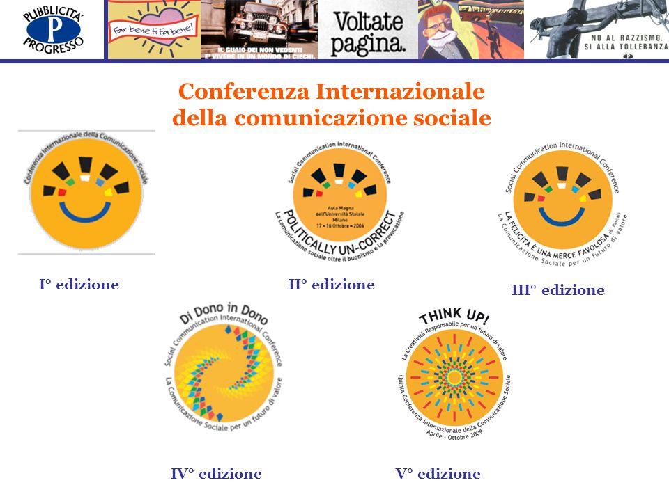Conferenza Internazionale della comunicazione sociale I° edizioneII° edizione III° edizione IV° edizioneV° edizione