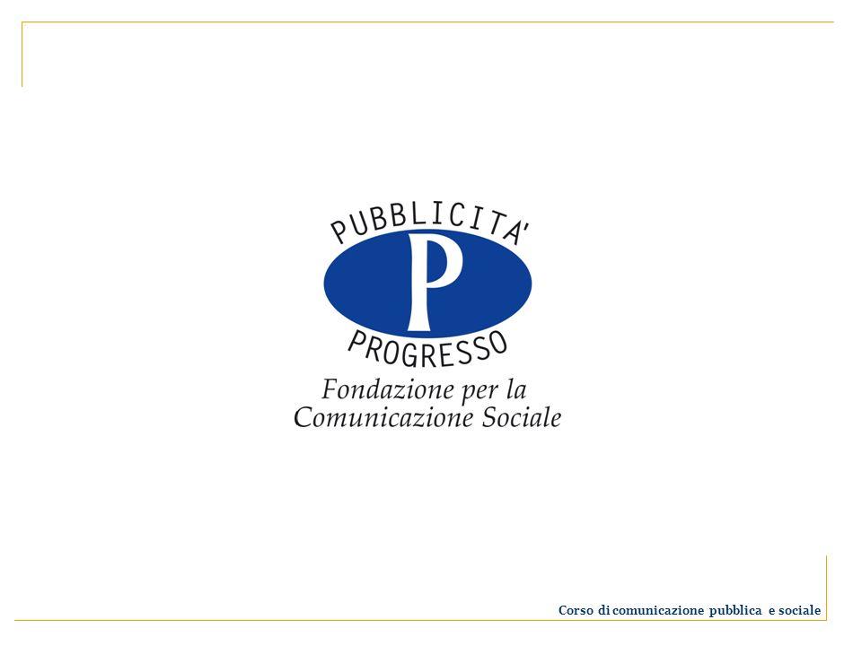Chi è Pubblicità Progresso La Fondazione Pubblicità Progresso è un organismo istituzionale senza fini di lucro.