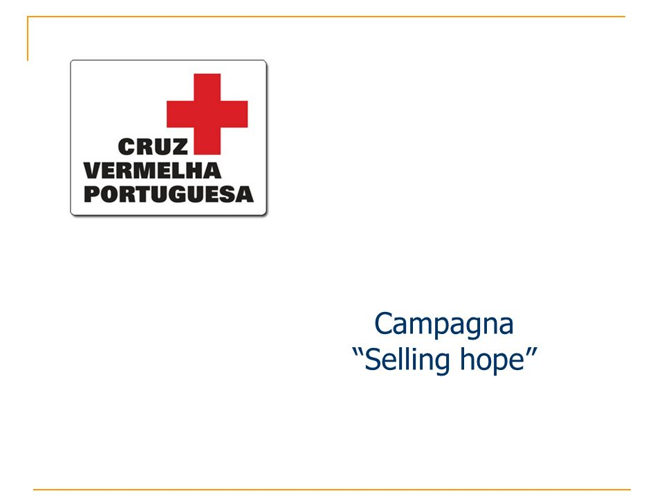 Campagna Selling hope