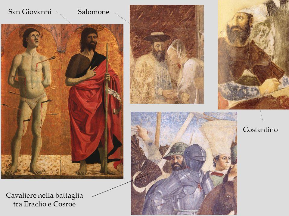 San GiovanniSalomone Costantino Cavaliere nella battaglia tra Eraclio e Cosroe