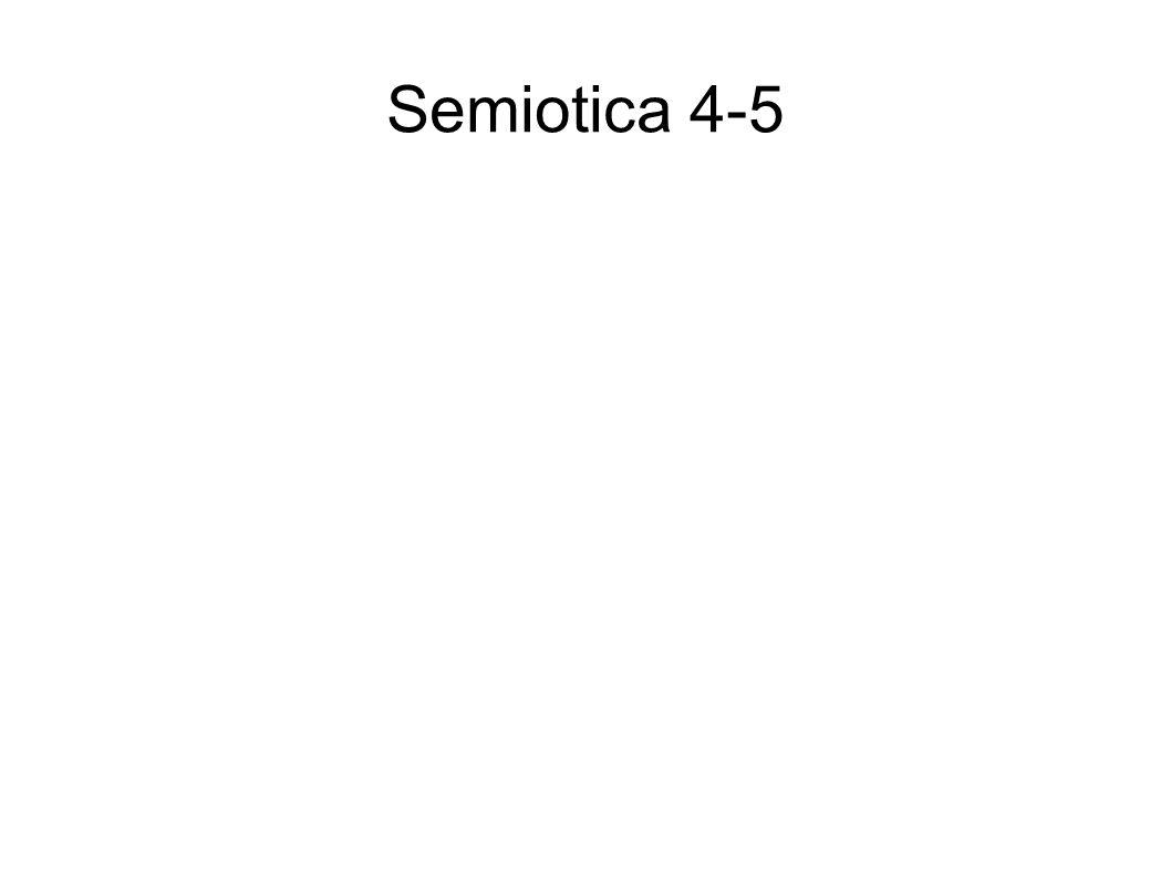 Semiotica 4-5