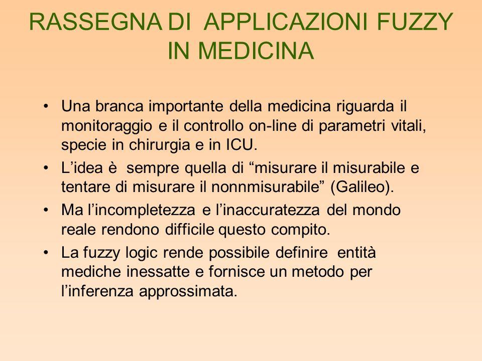 Nel trattamento dellinformazione i sistemi fuzzy vengono utilizzati in sinergia con reti neurali o algoritmi genetici.