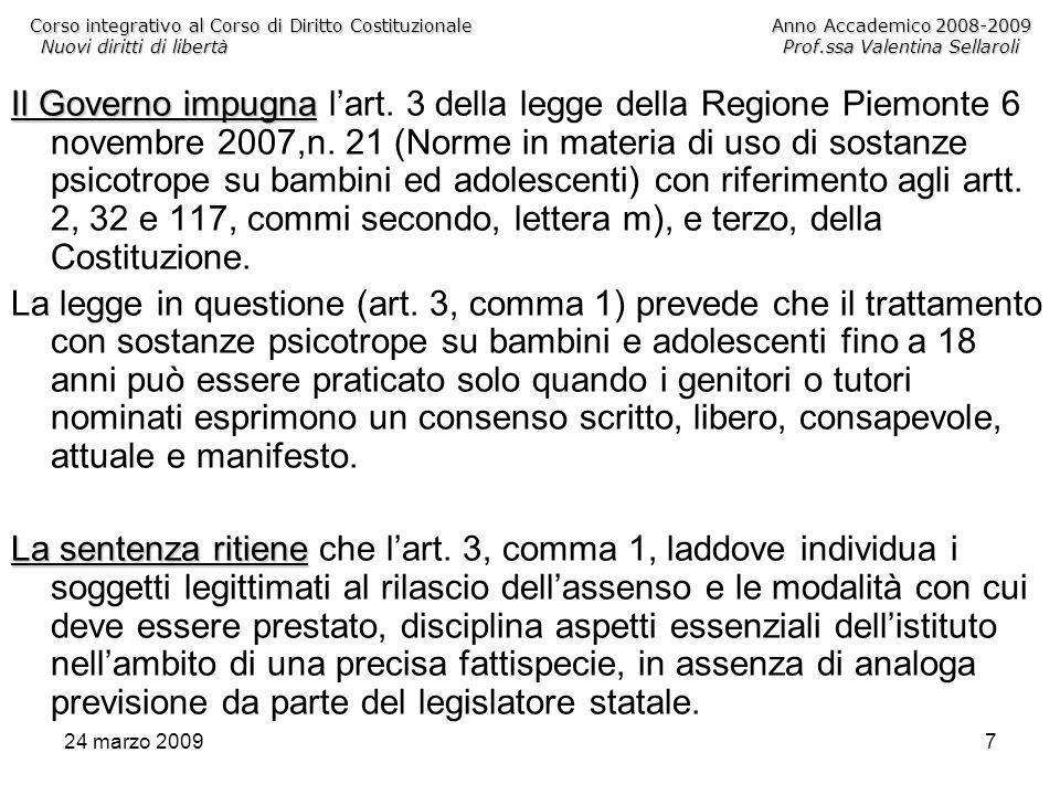 24 marzo 200928 Queste sono le fonti dichiarate nel Preambolo della Carta