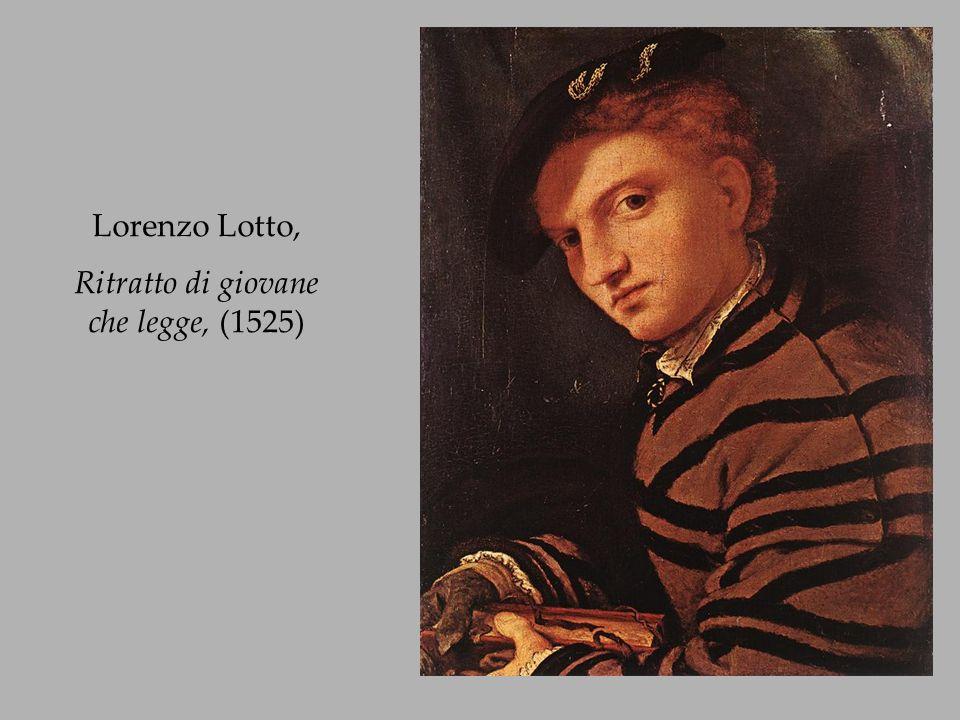 Lorenzo Lotto, Ritratto di giovane che legge, (1525)