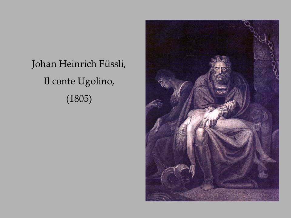 Johan Heinrich Füssli, Il conte Ugolino, (1805)