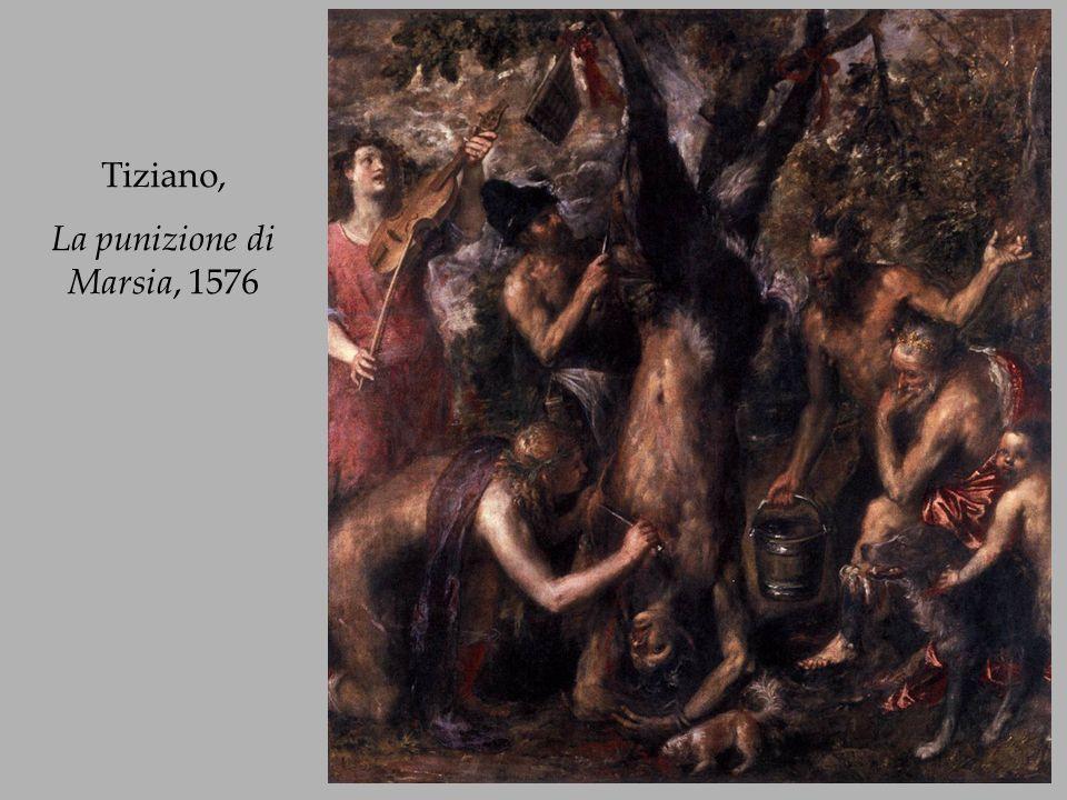 Tiziano, La punizione di Marsia, 1576