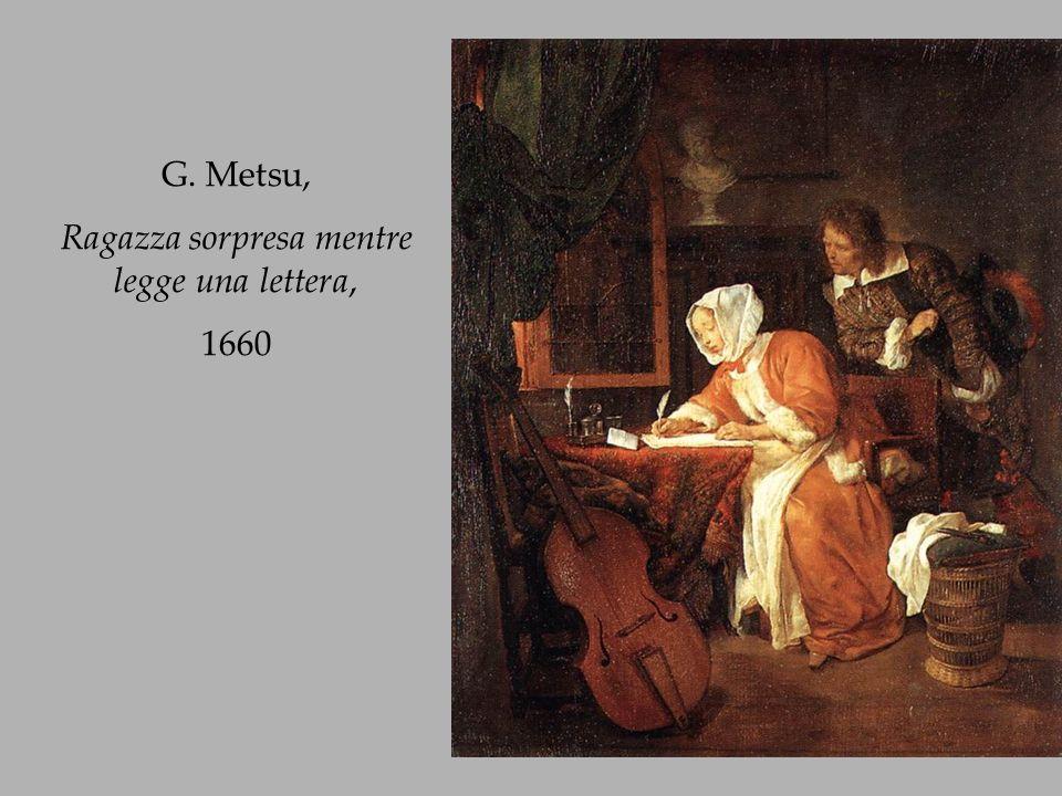 Jan Vermeer van Delft, Ragazza che legge una lettera, 1657