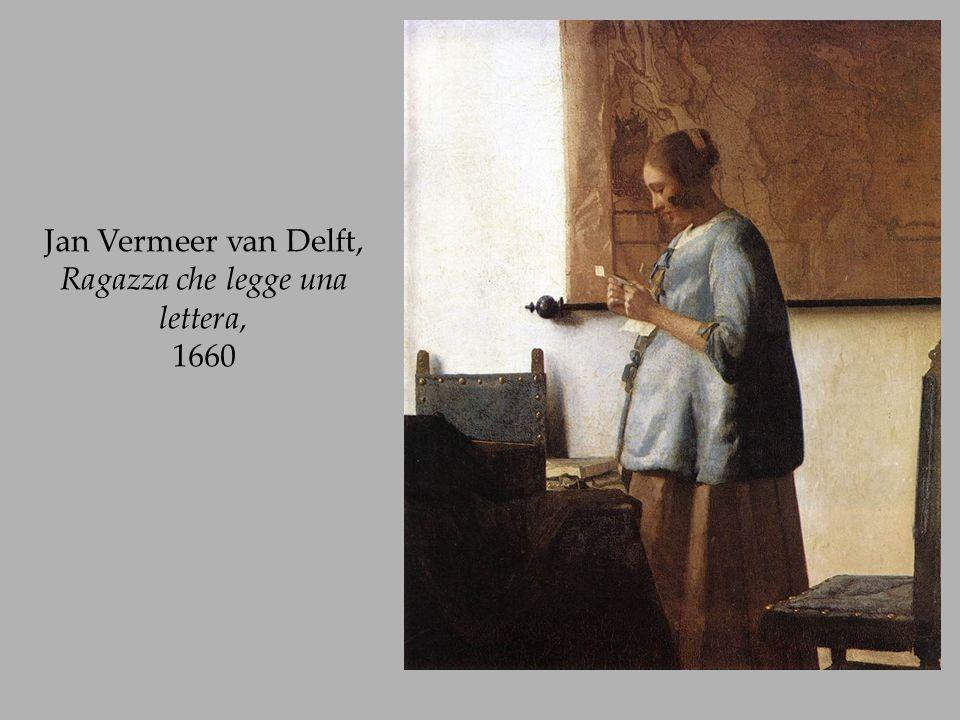 Jan Vermeer van Delft, Ragazza che legge una lettera, 1660
