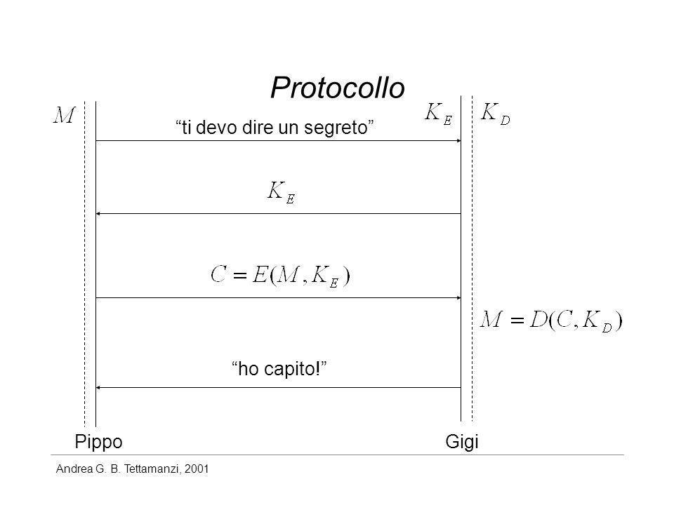 Andrea G. B. Tettamanzi, 2001 Protocollo PippoGigi ti devo dire un segreto ho capito!