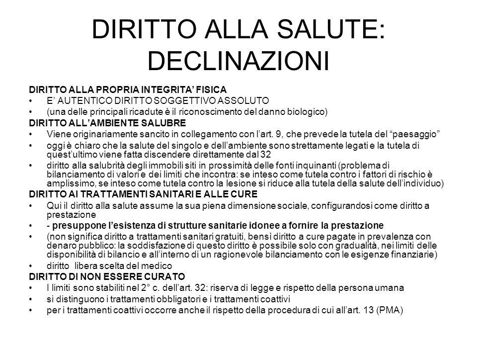 IL SERVIZIO SANITARIO NAZIONALE NELLA L.N.
