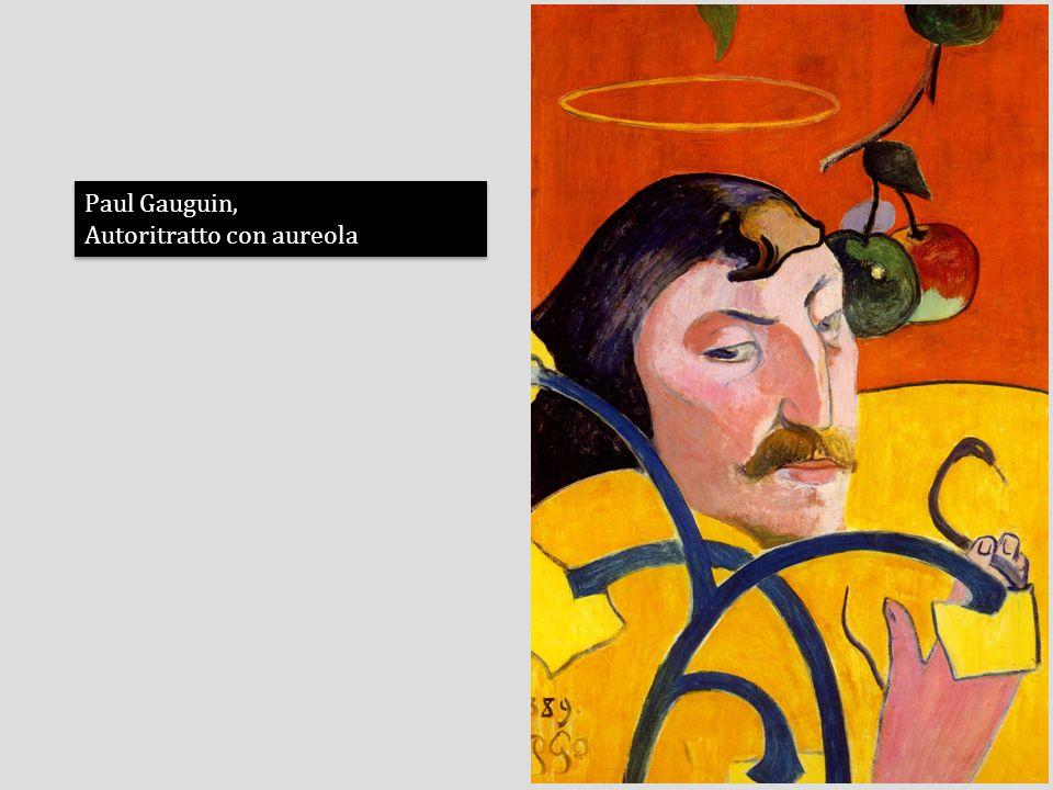 Paul Gauguin, Autoritratto con aureola Paul Gauguin, Autoritratto con aureola