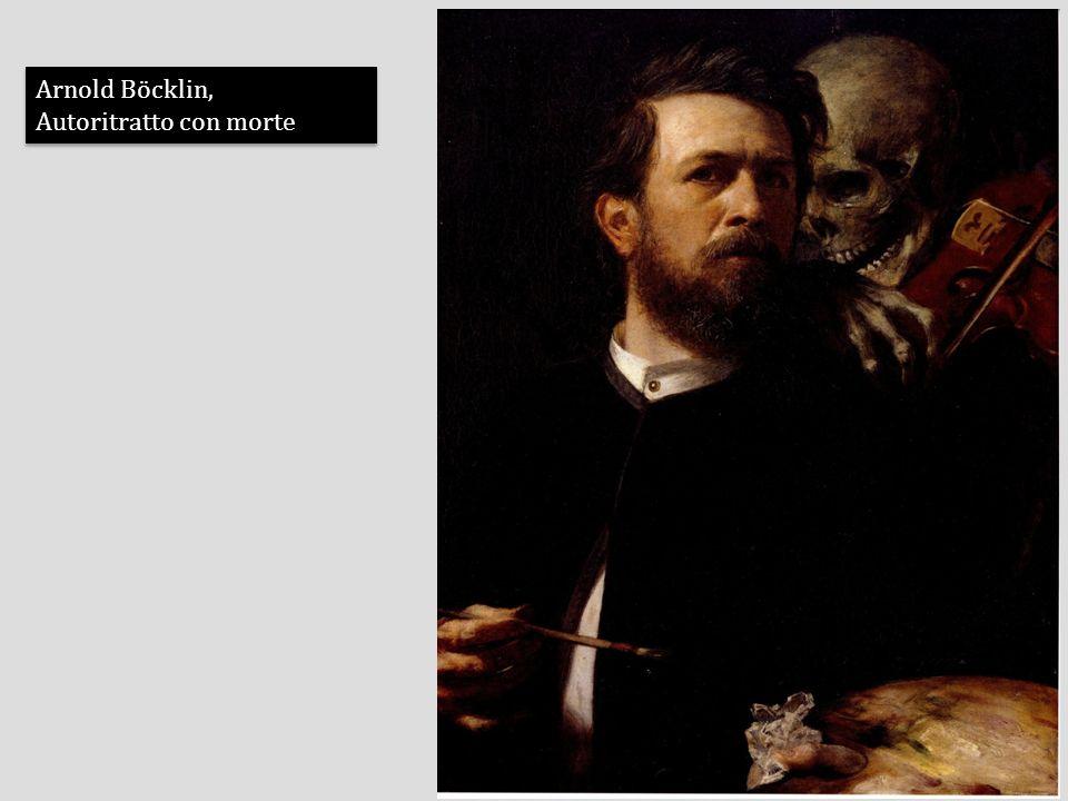 Arnold Böcklin, Autoritratto con morte Arnold Böcklin, Autoritratto con morte