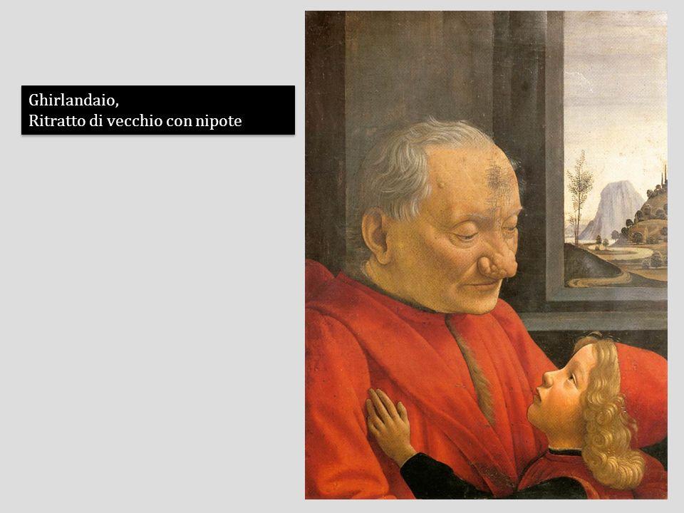 Ghirlandaio, Ritratto di vecchio con nipote Ghirlandaio, Ritratto di vecchio con nipote
