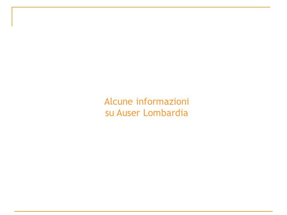 Alcune informazioni su Auser Lombardia