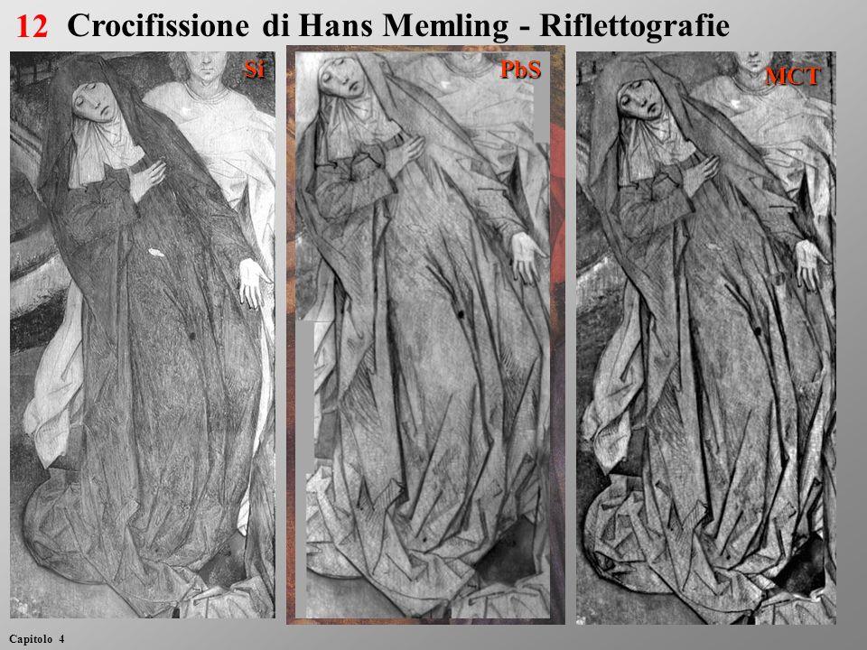 SiPbS MCT 12 Capitolo 4 Crocifissione di Hans Memling - Riflettografie