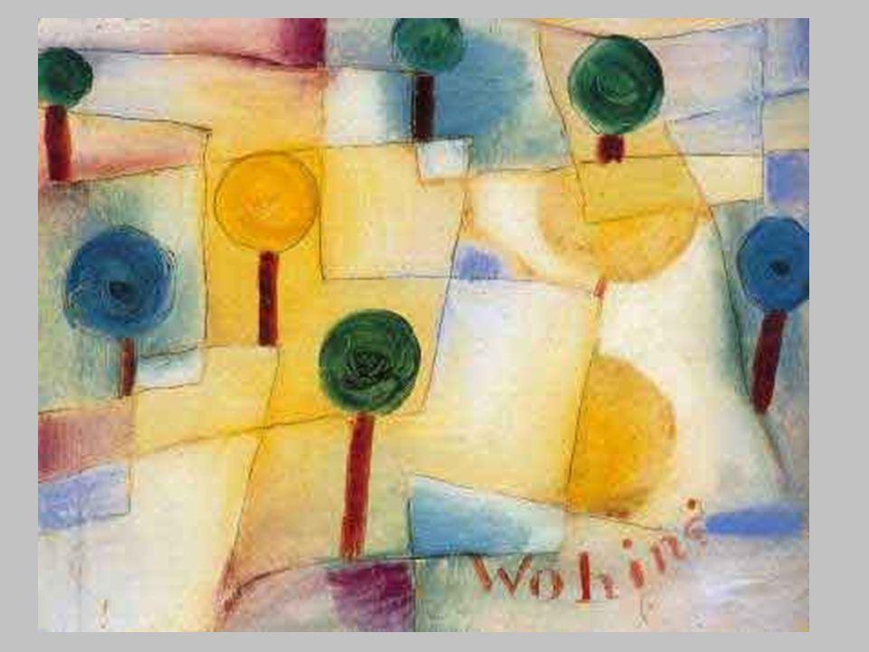 Paul Klee, Vie principali e secondarie