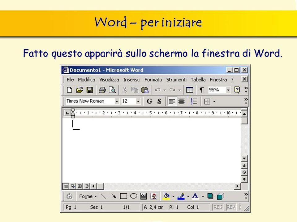 Visualizzazioni: zoom finestra di dialogo Nuovo, nella quale si può scegliere sia il documento vuoto, sia un altro documento tipo, da scegliere tra i modelli forniti con il programma.