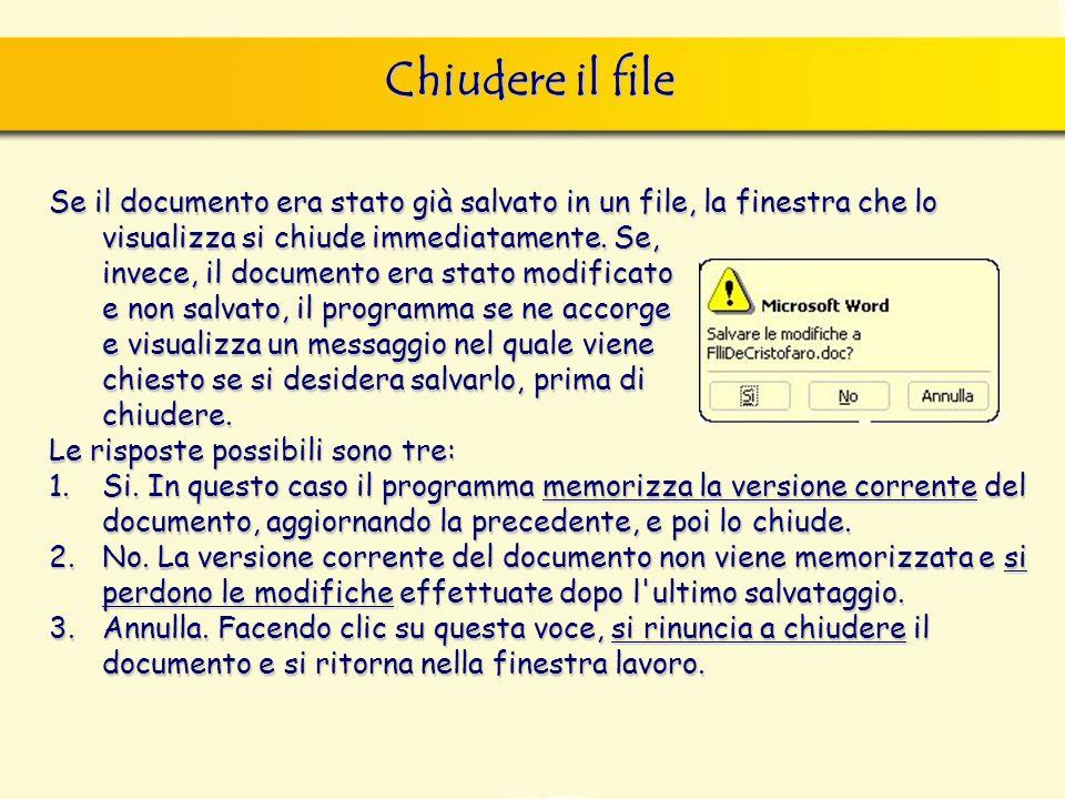 Funzione Help finestra di dialogo Nuovo, nella quale si può scegliere sia il documento vuoto, sia un altro documento tipo, da scegliere tra i modelli forniti con il programma.