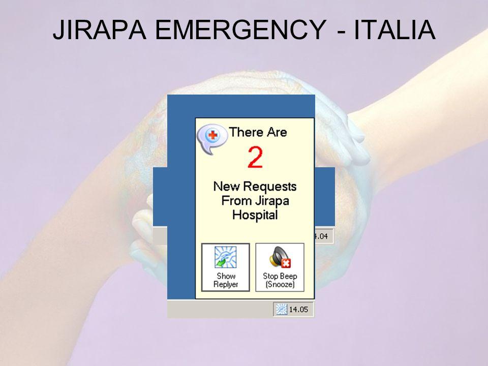 JIRAPA EMERGENCY - ITALIA