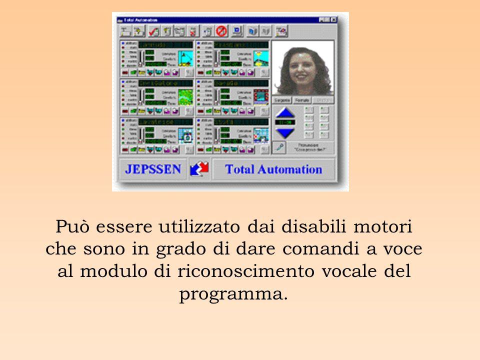 Può essere utilizzato dai disabili motori che sono in grado di dare comandi a voce al modulo di riconoscimento vocale del programma.