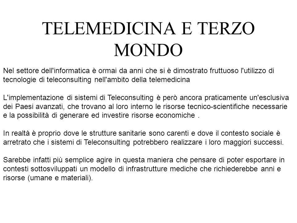 Nel settore dell'informatica è ormai da anni che si è dimostrato fruttuoso l'utilizzo di tecnologie di teleconsulting nell'ambito della telemedicina L
