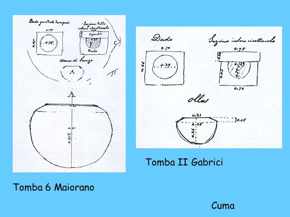 Tomba 6 Maiorano Tomba II Gabrici Cuma