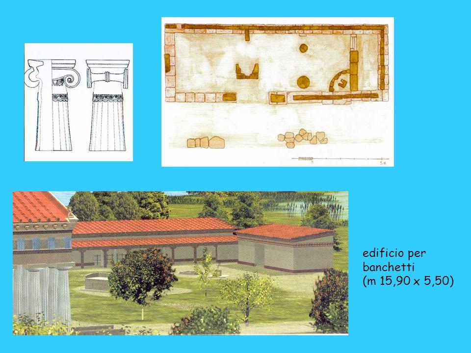 edificio per banchetti (m 15,90 x 5,50)