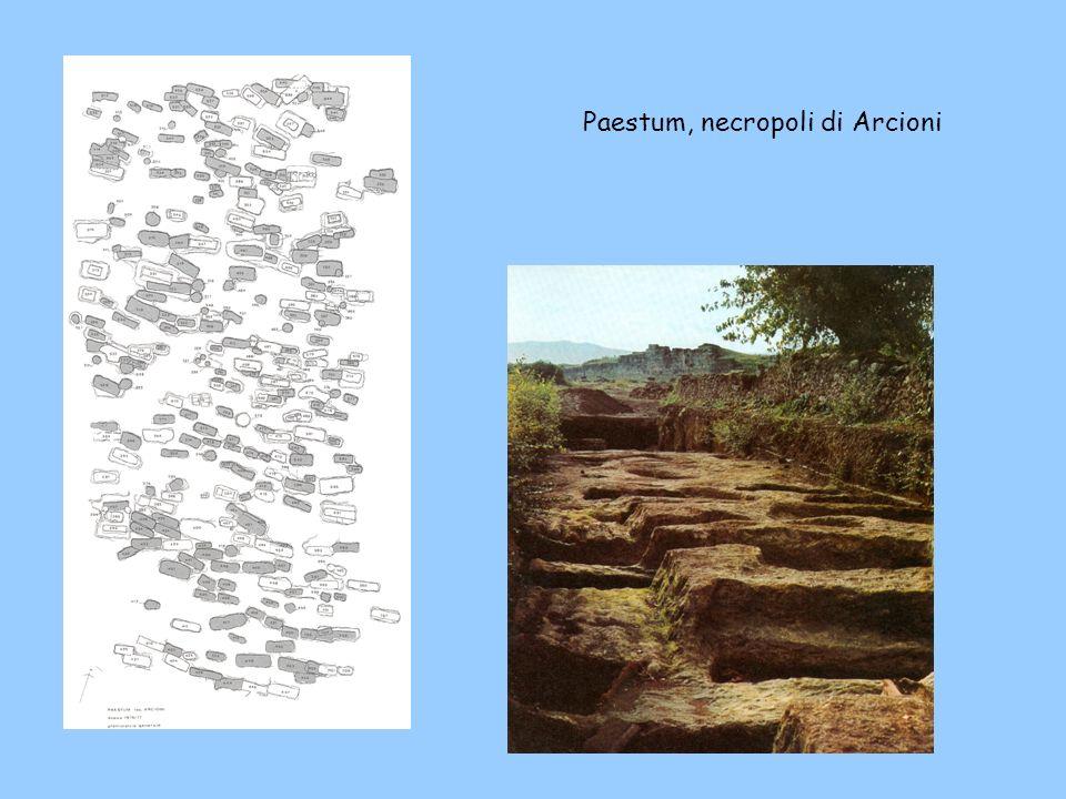 Paestum, necropoli di Arcioni