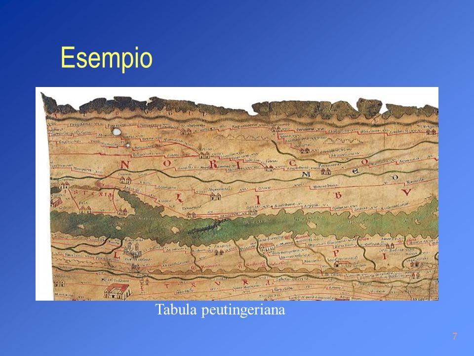 7 Esempio Tabula peutingeriana