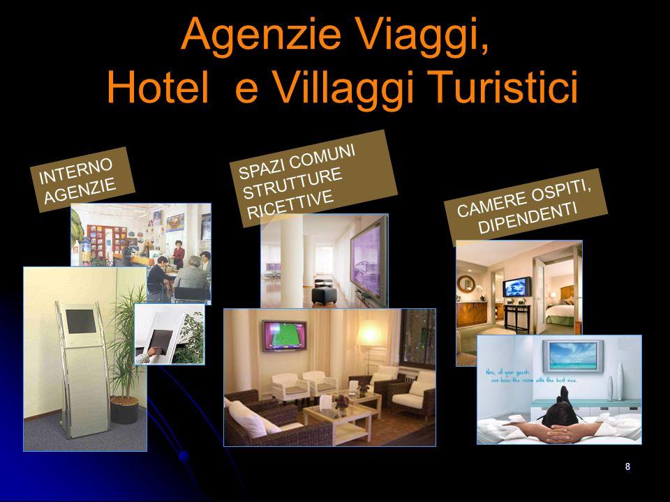 8 INTERNO AGENZIE SPAZI COMUNI STRUTTURE RICETTIVE CAMERE OSPITI, DIPENDENTI Agenzie Viaggi, Hotel e Villaggi Turistici