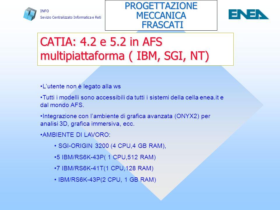 INFO Sevizio Centralizzato Informatica e Reti Modalità di utilizzo dei server di calcolo del C.E.D.