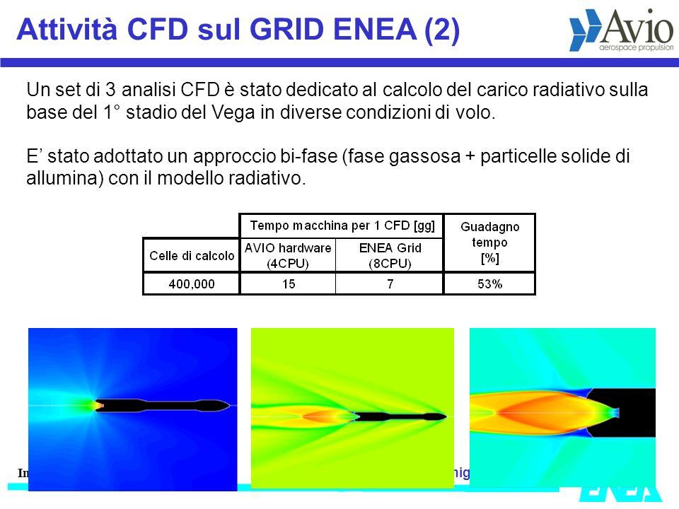 migliori@enea.itwww.cresco.enea.it Incontro JRC-ENEA 6 Marzo 2009 Attività CFD sul GRID ENEA (2) Un set di 3 analisi CFD è stato dedicato al calcolo d