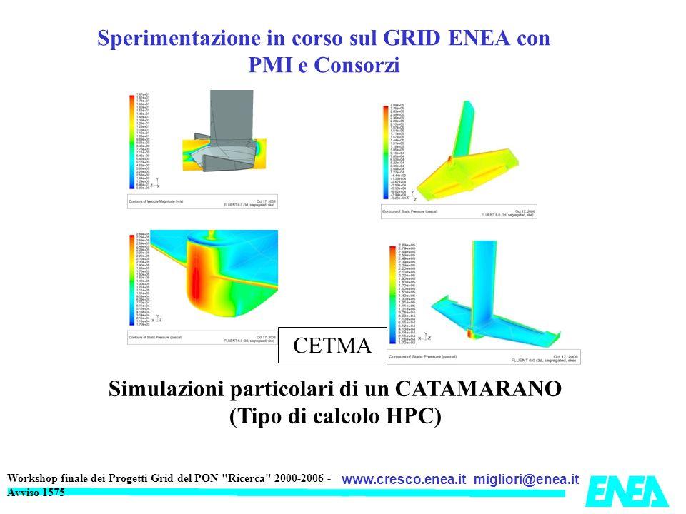 migliori@enea.itwww.cresco.enea.it Workshop finale dei Progetti Grid del PON