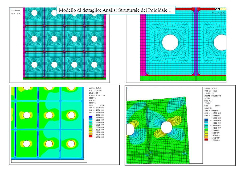 Modelli di dettaglio Modello di dettaglio: Analisi Strutturale del Poloidale 1