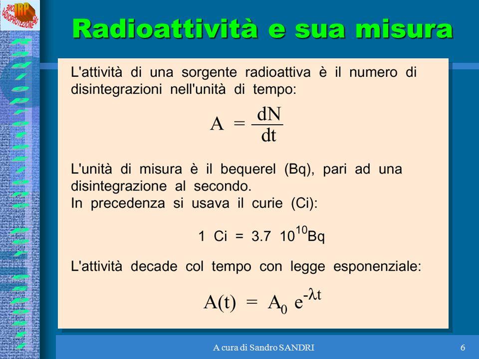 A cura di Sandro SANDRI37 Rischi radiologici a FNG Per i lavoratori Durante il funzionamento: –neutroni –x e gamma –dispersione di trizio A macchina spenta –x e gamma da attivazione –contaminazione da trizio Per gli altri nessun rischio neppure in caso di incidente