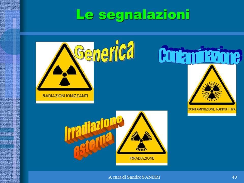 A cura di Sandro SANDRI40 Le segnalazioni