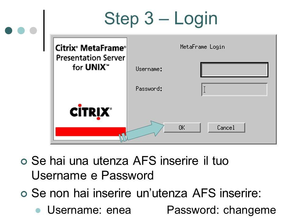 Step 14 Monitoring del Sistema Fare clic su xlsmon per aprire finestra di Monotoring