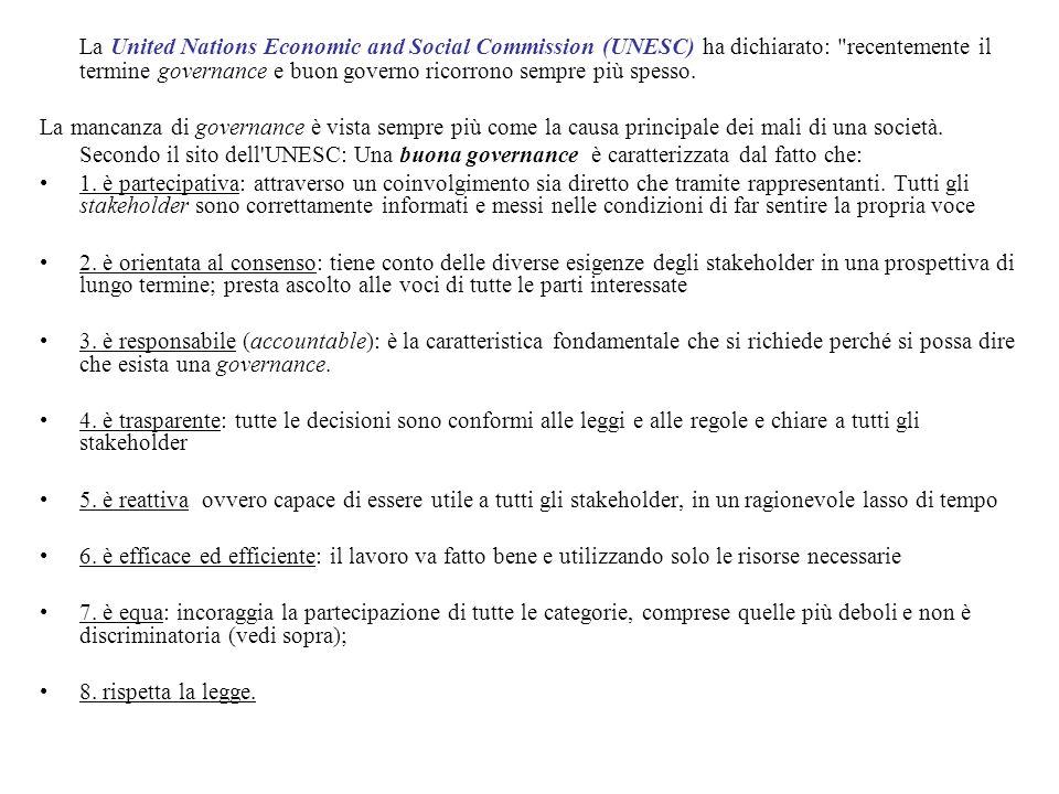 La United Nations Economic and Social Commission (UNESC) ha dichiarato: