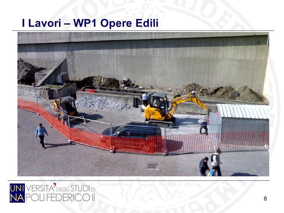6 I Lavori – WP1 Opere Edili CAPANNONE OFFICINA INFN