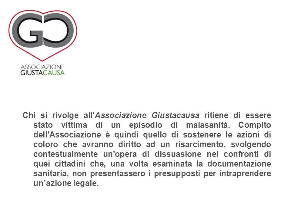 Chi si rivolge all Associazione Giustacausa ritiene di essere stato vittima di un episodio di malasanità.