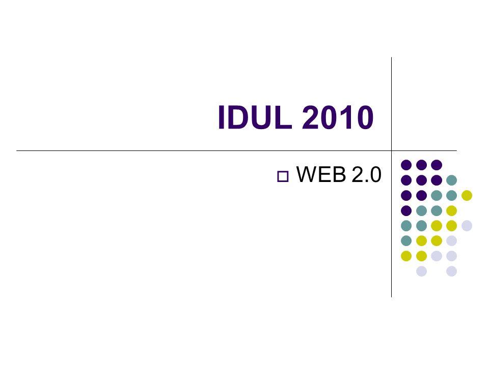 IDUL 2010 WEB 2.0