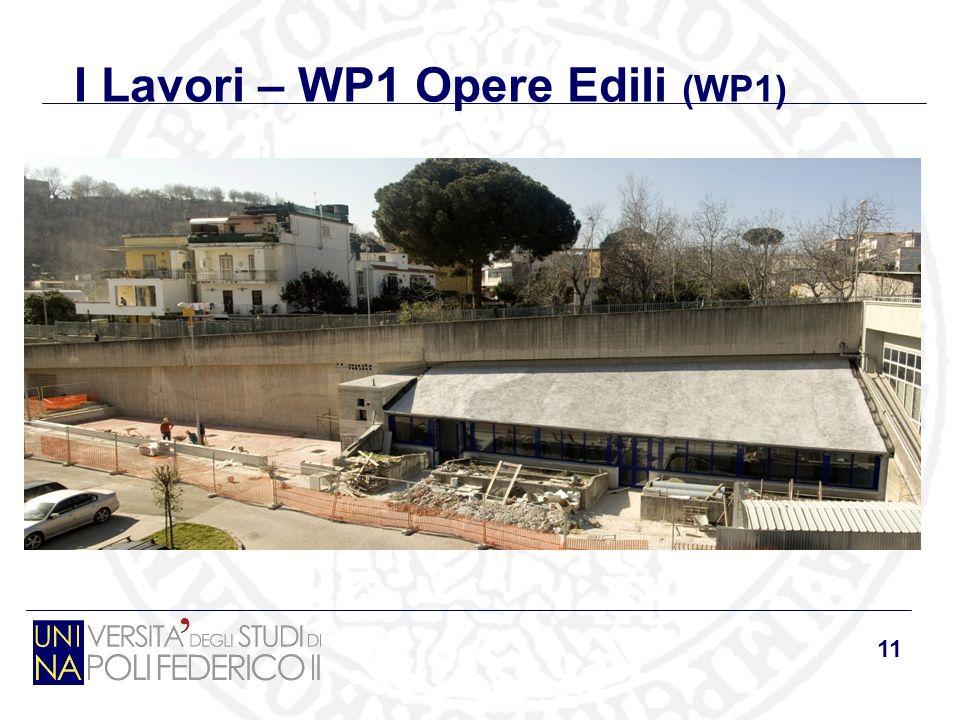 11 I Lavori – WP1 Opere Edili (WP1)
