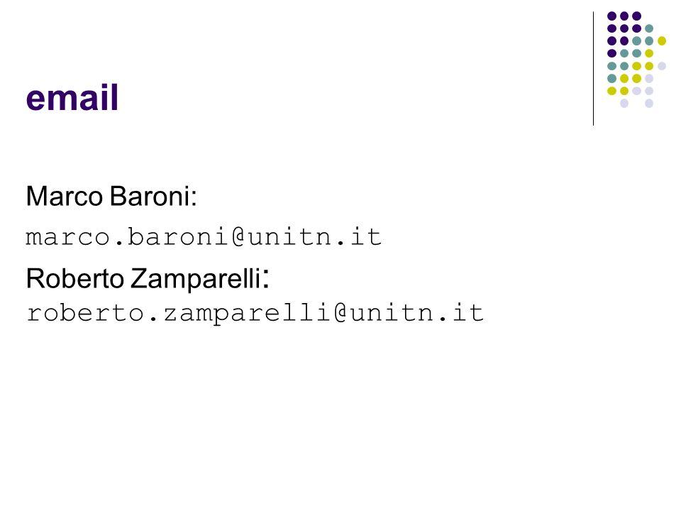 email Marco Baroni: marco.baroni@unitn.it Roberto Zamparelli : roberto.zamparelli@unitn.it
