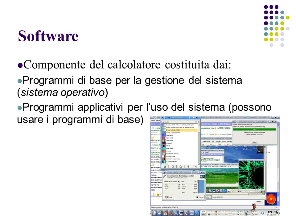 Sistemi operativi e Open Source Il codice prodotto dal lavoro dei volontari organizzati tramite rete viene diffuso completo di codice sorgente (source): il programma scritto in un linguaggio ad alto livello e commentato dai suoi creatori.