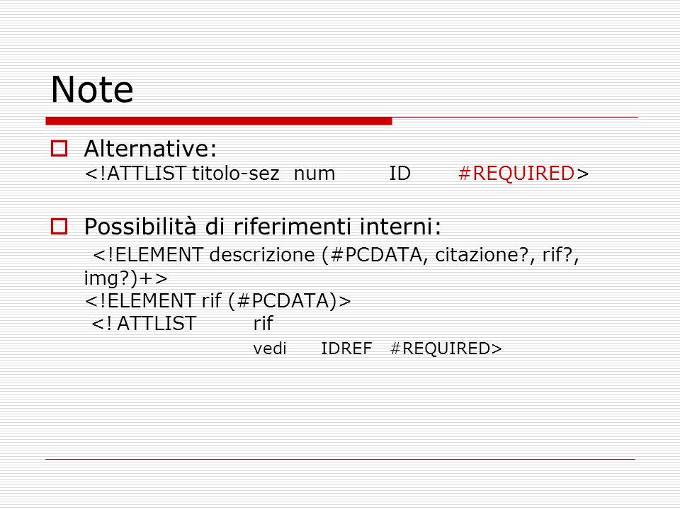 Esempi di testi codificati con TEI Da GriseldonlineGriseldonline Il Galateo di Giovanni della Casa (per visualizzarlo, è necessario scaricare la directory galateo con tutto il suo contenuto (file xml, xsl, e teixlite.dtd)Galateo