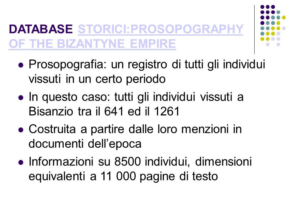 SINTASSI DI SQL Diversi tipi di comandi: DDL (Data Definition Language: comandi per la creazione e lupdate del DB) DML (Data Manipulation Language: comandi per la interrogazione del DB) Create TABLE persona ( Nomevarchar(50) PRIMARY KEY, Nazione varchar(50), Data_Nascitadate ); SELECT nome, nazione, data_nascita FROM persona WHERE nazione = Italia;