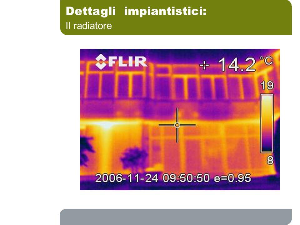 Dettagli impiantistici: Il radiatore