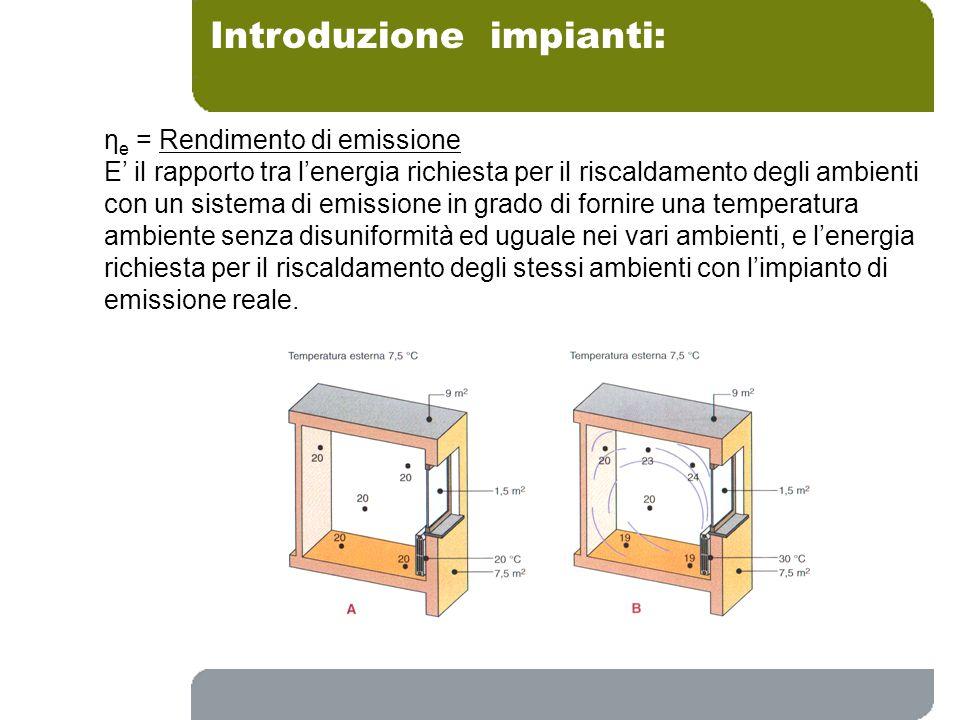 Introduzione impianti: Radiatori e fan coil (Sistemi convettivi)